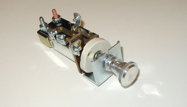 1954 Cadillac Headlight Switch : Volt universal headlight switch