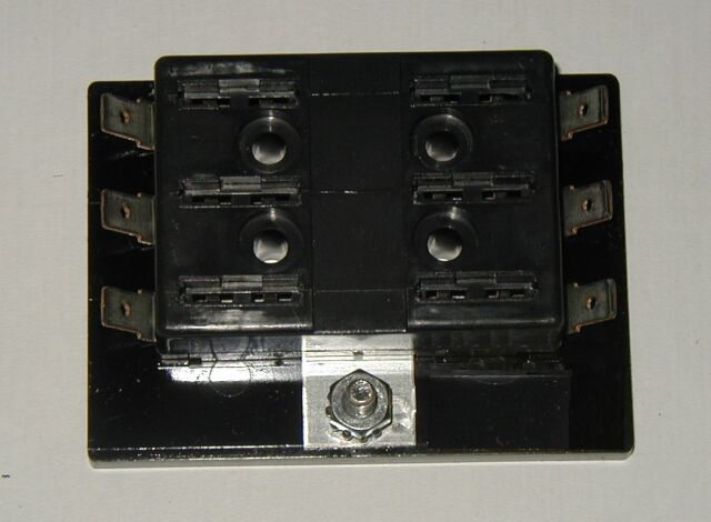 6 fuse panel uses atc ato blade fuses hot rod custom boat kustom rat b ebay. Black Bedroom Furniture Sets. Home Design Ideas