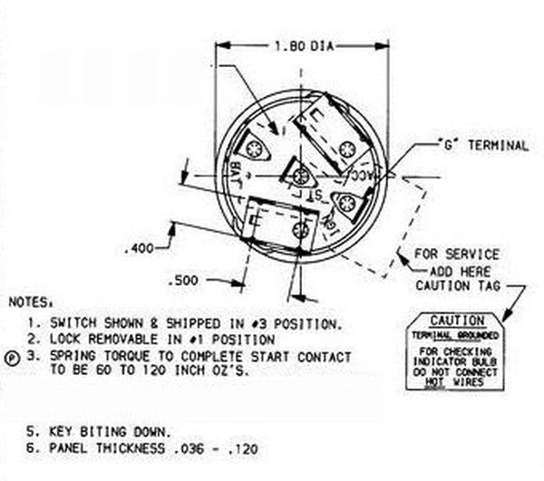 Pollak Marine Ignition Switch Wiring Diagram