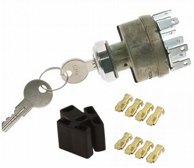 Details about Ignition Switch d Heavy Duty 4 Position Ke Stainless on