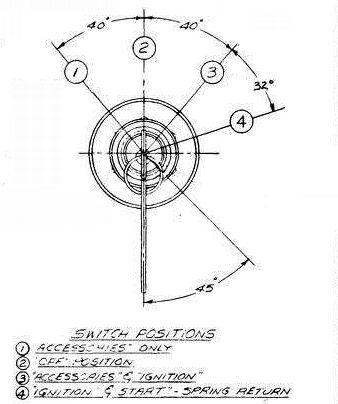 ignition switch forklift diesel engine glow plug warming jlg yale rh ebay com  clark forklift ignition switch wiring diagram